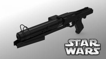Star Wars DC-15s blaster rifle