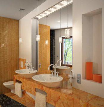 3D models of boutique fashion bathroom