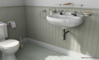 3D models of indoor space toilet