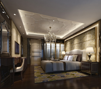 3d model decoration bedroom deluxe continental for 3d model decoration