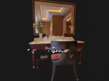 3d model of the bathroom vanity