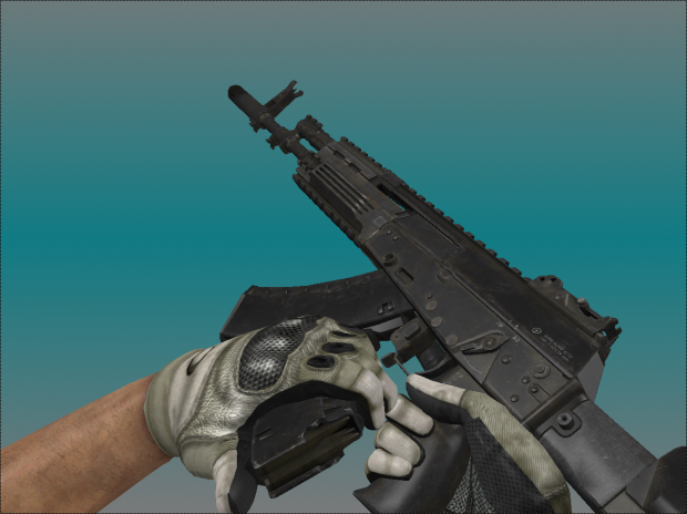 AK-12 with animation