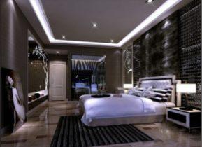 After ultra modern bedroom 3D model