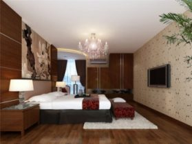 Bedroom fashion space 3D model