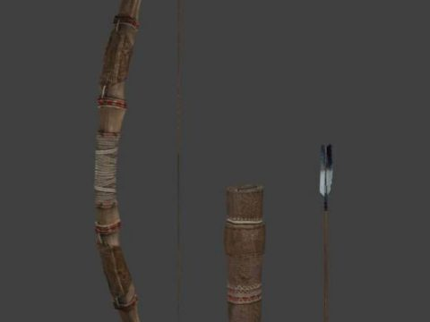 Bow Quiver Arrow