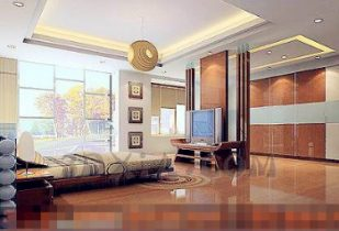 Bright and spacious bedroom
