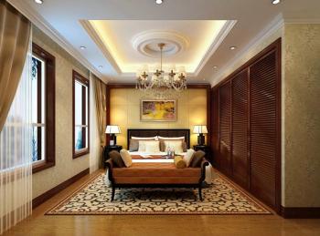 Chinese bedroom 3D model design