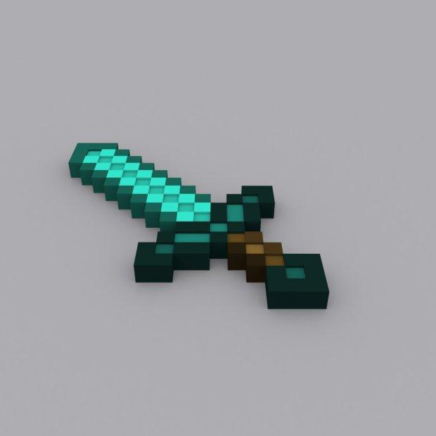 diamond sword downloadfree3dcom