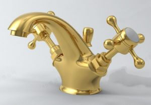 Golden faucet model