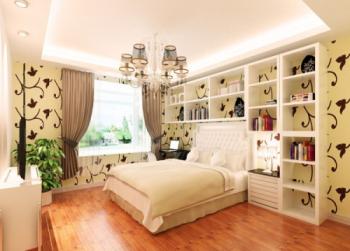 Hardcover bedroom 3D model
