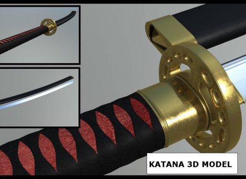 Katana with Sheath