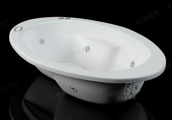 Luxury bath model