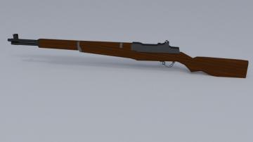 M1 Garand WWII Rifle