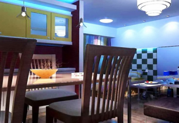 Multifunction restaurant 3D models