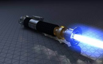 Obi Wan Kenobi Lightsaber ANH Clean Version