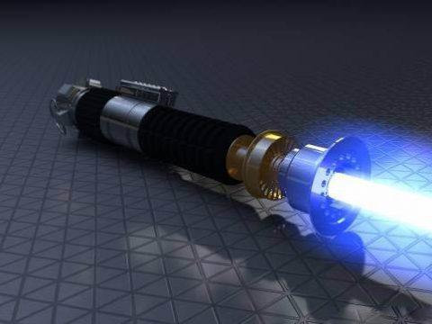 Obi Wan Kenobi Lightsaber ANH Clean Version