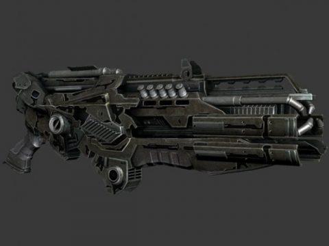 Rail Beam Gun