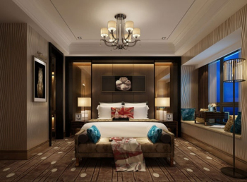 Retro bedroom 3D model