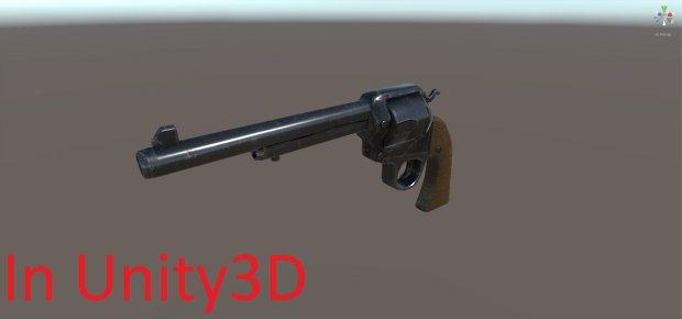 Revolver | Free 3D models