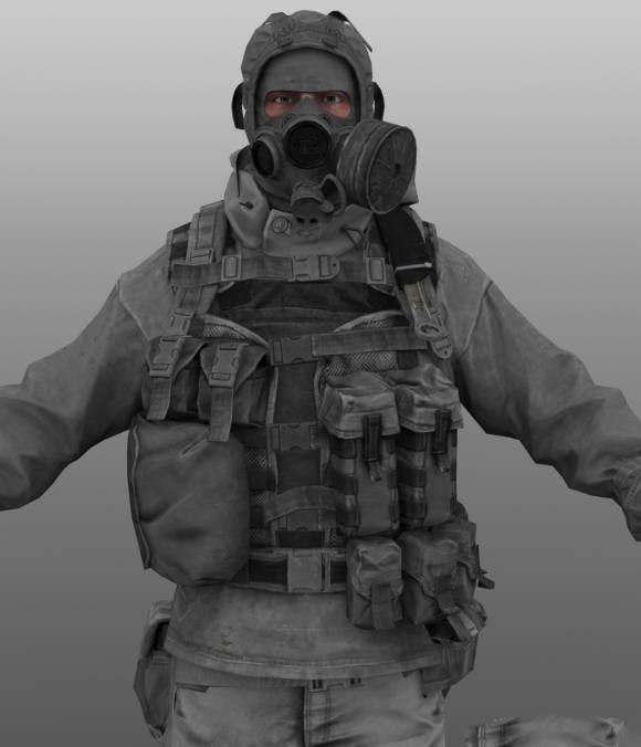 Russian Engineer Free 3d Models