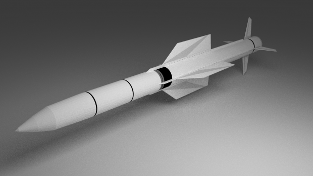 Sm 2 Missile Defense Free 3d Models
