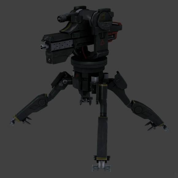 Sentry Gun Downloadfree3d Com