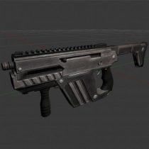 Submachine Gun M24 R