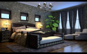 Ultra modern bedroom 3d models