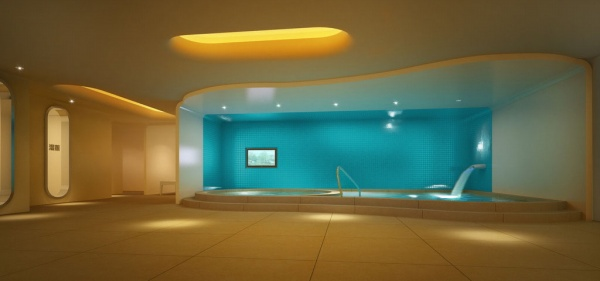 Luxurious Bathroom 3d Models