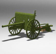 76 mm Russian divisional gun M1902