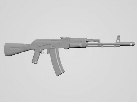 AK-47 High Poly