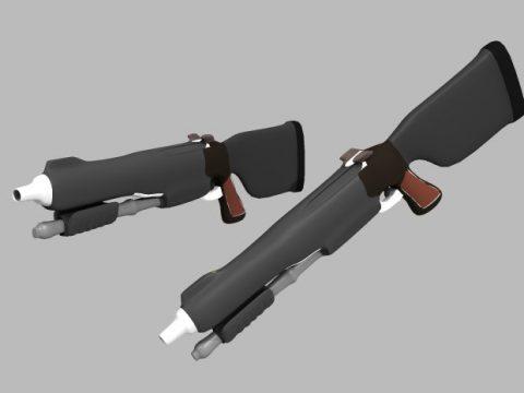 Cartoon Shotgun ES 12mm