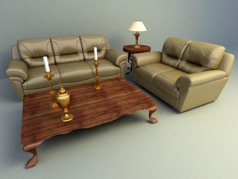 European style sofa1