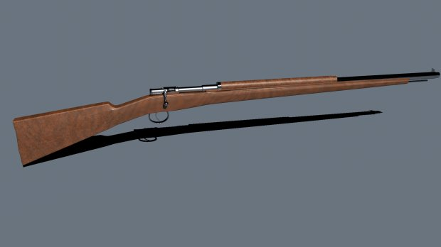 Fusil Mauser paraguayo | Free 3D models