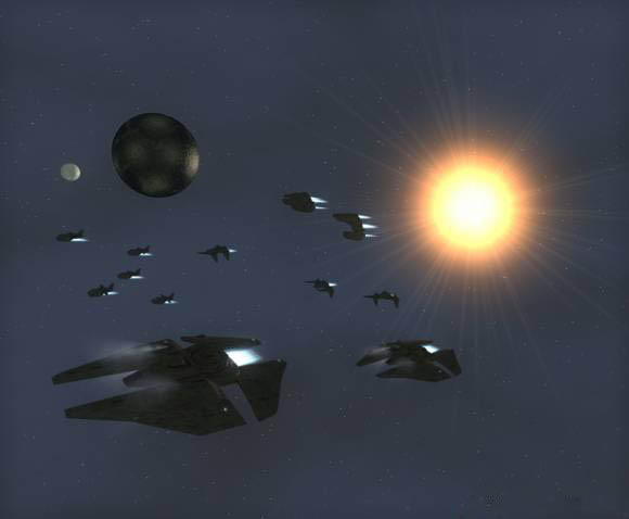 Hegemonia-Legions of iron Human warships