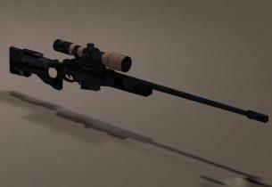L11A3 Sniper Rifle