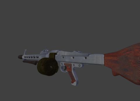 MG42 High Poly