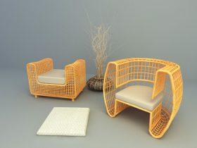 Modern Lounge sof