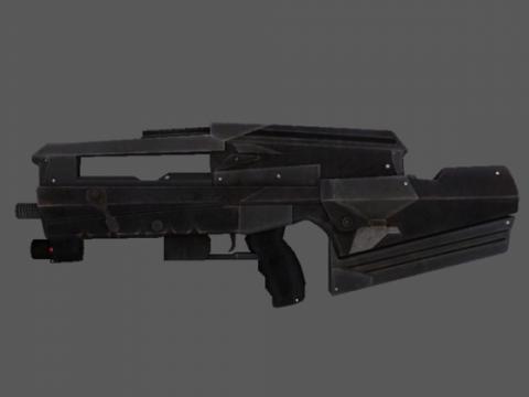 SWAT rifle