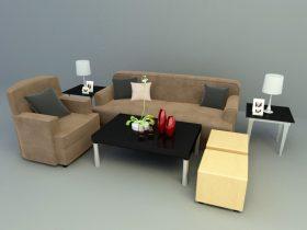 Simple & family concept sofa