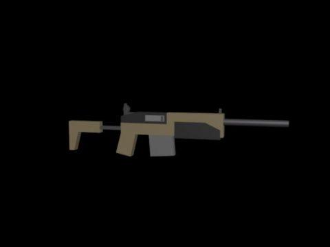 Unturned Sabertooth Gun