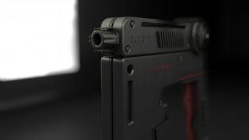 Futurist gun
