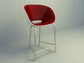 modern pub chair