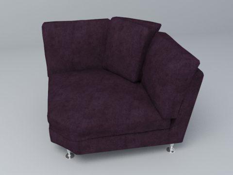 purple Mini Sofa