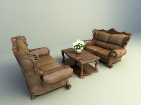 retro classic sofa