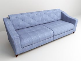 sofa blue