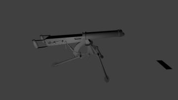 Vicker machine gun