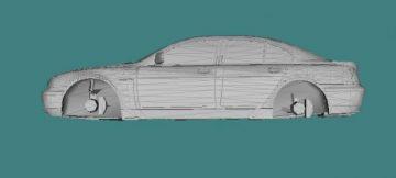 2002 BMW 760i 3D model