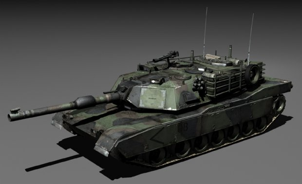 Abrams Tank Downloadfree3d Com