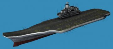 Admiral Kuznetsov 3D ship model